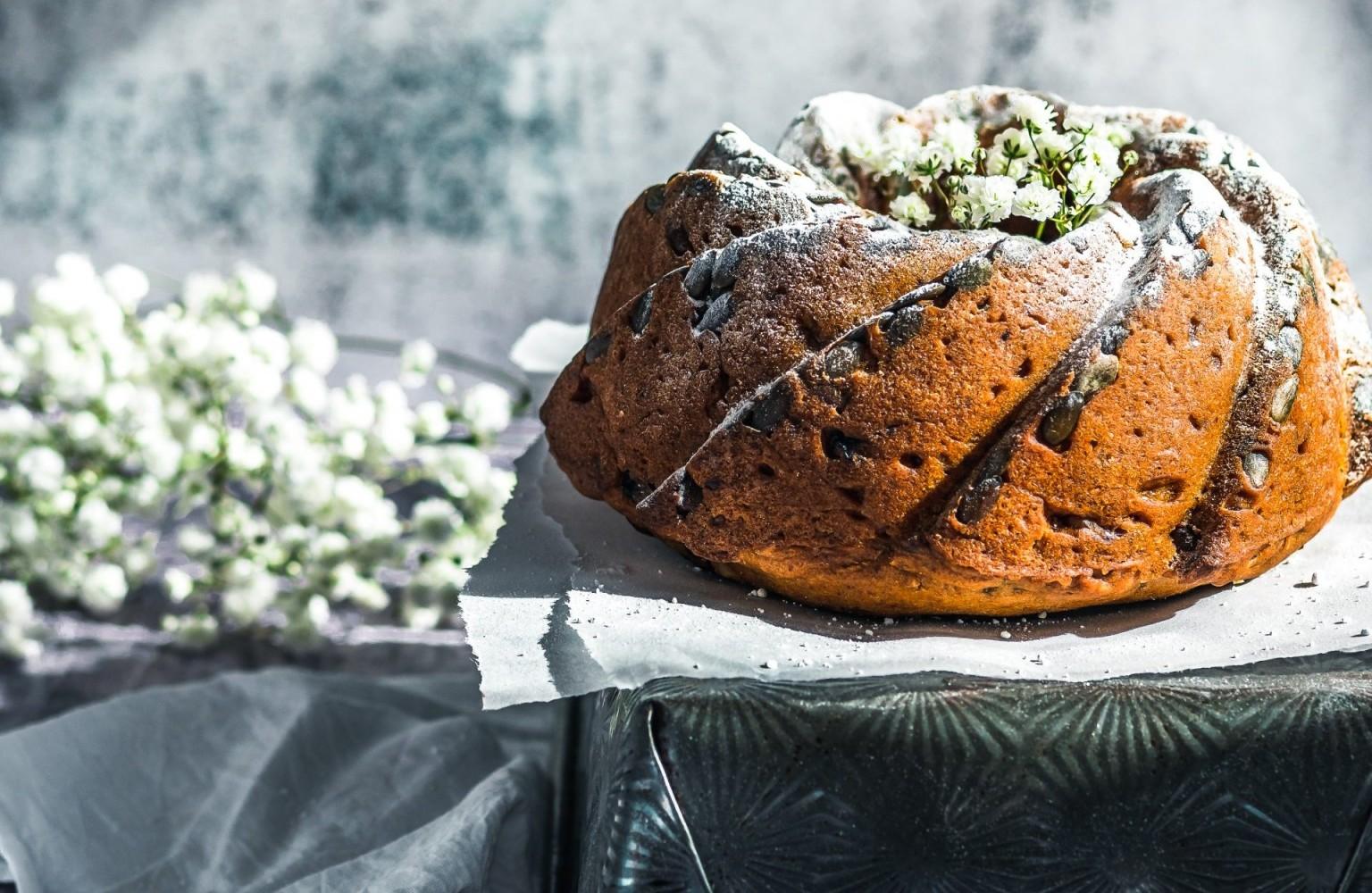 Spiced Pumpkin & Sweet Potato Bundt