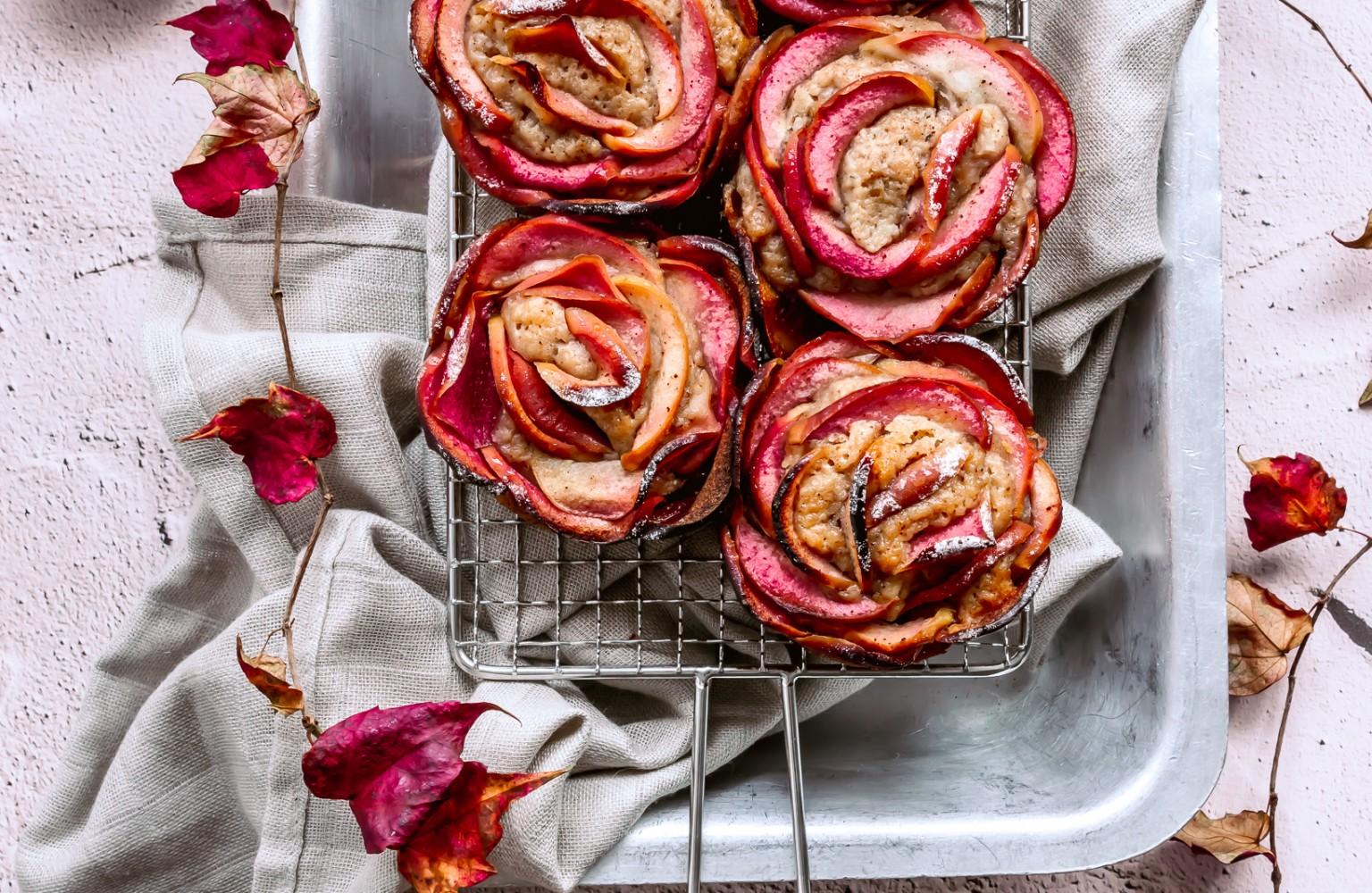 Kissabel Apple Rose & Cinnamon Muffins